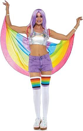 Leg Avenue Women's Festival Pride Rainbow Wings