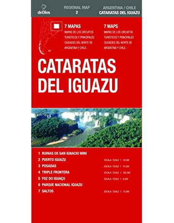 Cataratas Del Iguazu (Regional Map) (Spanish and English Edition)