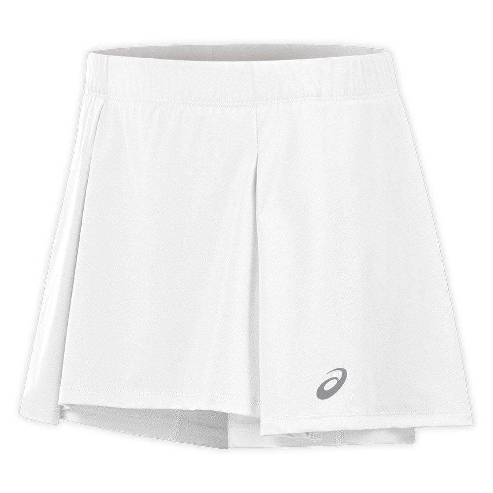 Asics Athlete Falda para Mujer, Mujer, Color Real White, tamaño ...