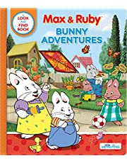 Max & Ruby: Bunny Adventures: A Look and Find Book
