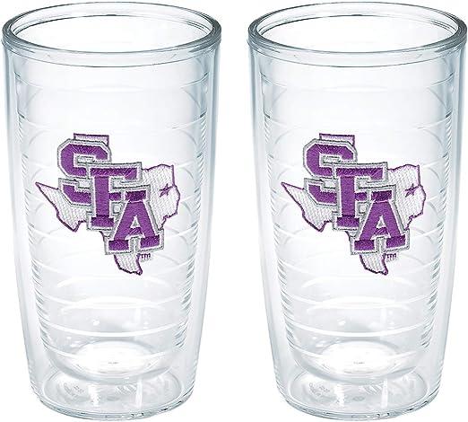 Tervis Stephen F Austin University Emblem Tumbler Set of 4 16 oz Clear