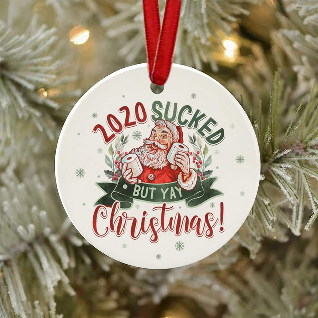 Xmas Christmas Hanging Ornaments Family Ornament And Pen