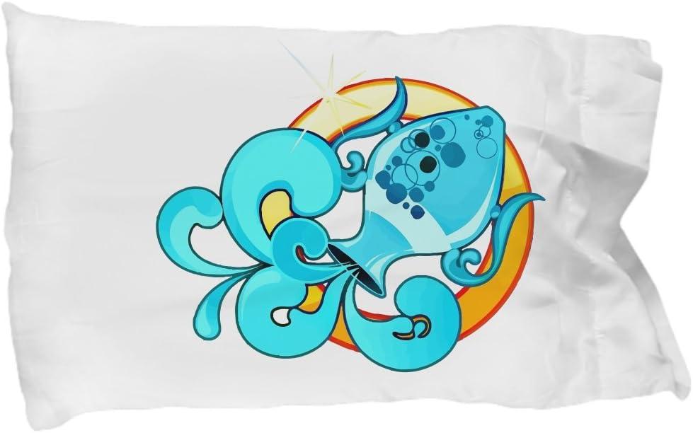 Zodiac Sign Aquarius Pillow Case Home Kitchen