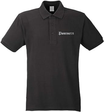 sostex Pommern Camiseta Polo - Alemán Antiguo - Bordado ...