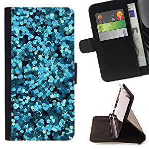 Momo Phone Case / Flip Funda de Cuero Case Cover - Brillante Burbujas de agua abstracta Luz - Sony Xperia Style T3