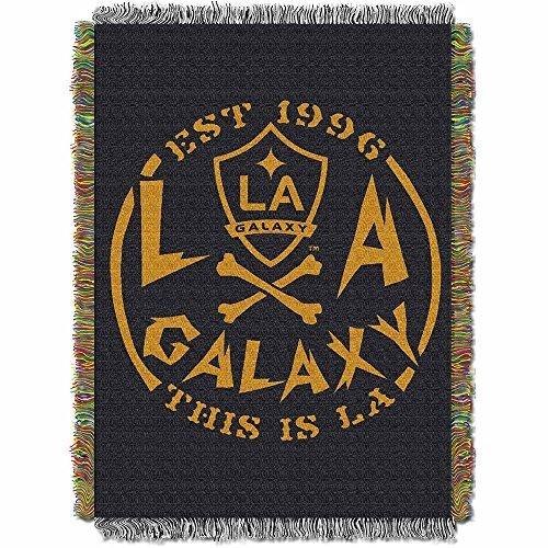 (MLS Los Angeles Galaxy Handmade Woven Tapestry Throw, 48