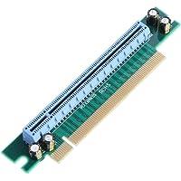 Hillrong PCI-E Express 16x Carte Adaptateur 90° Châssis de Serveur 1U Ordinateur