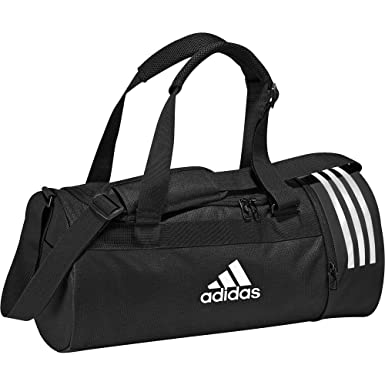 26dc920af9 adidas Convertible 3-Stripes Sac de Sport Petit Format Mixte Adulte,  Black/Grey