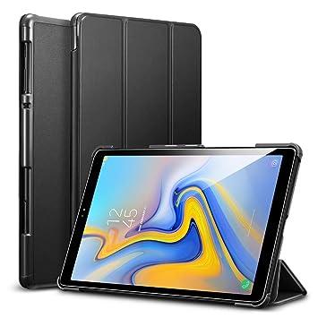 3672701e81048 ESR Coque pour Samsung Galaxy Tab A 10.5 (2018) (Noir), Smart Cover ...
