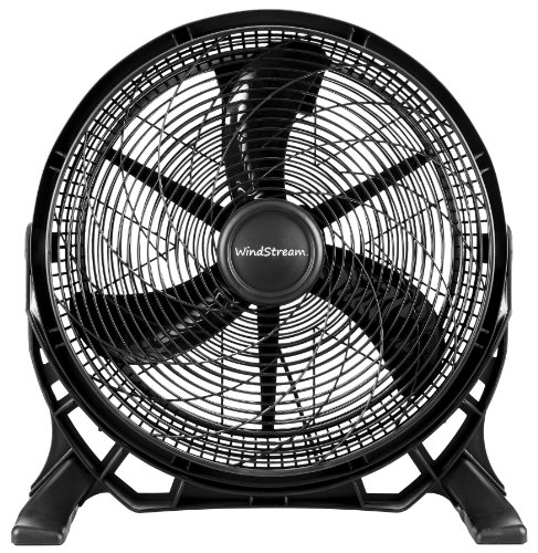 New windstream 20 inch super high velocity floor fan air for Air circulation fans home