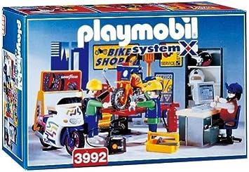 PLAYMOBIL 3992 Tienda de Bicicletas: Amazon.es: Juguetes y juegos