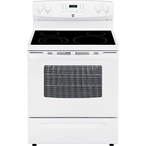 amazon com kenmore 94172 5 3 cu ft self clean electric range in rh amazon com kenmore easy clean oven manual kenmore oven self cleaning manual