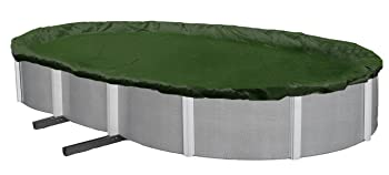 Blue Wave Silver Oval Above Ground Pool Cover