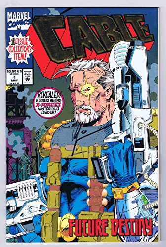 Cable #1 Signed w/COA Art Thibert Near Mint- 1993 Marvel Comics Deadpool 2 Movie]()
