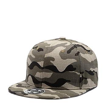 NBKLS Gorras Planas de Hip-Hop Camuflaje Personalizado Pingfeng Gorras de béisbol para Hombres y Mujeres tamaño del Casquillo se Puede Ajustar,D: Amazon.es: ...
