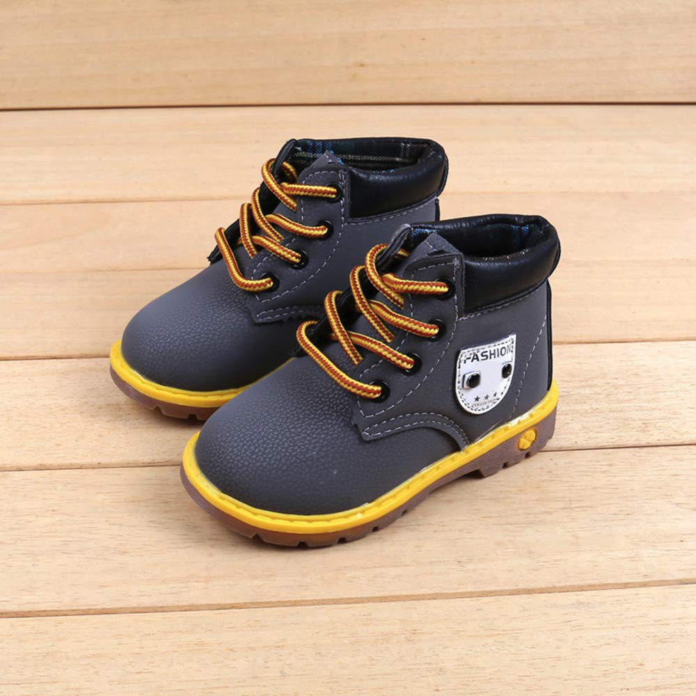 SMALLE ◕‿◕ Clearance,Baby Children Warm Boys Girls Martin Sneaker Boots Kids Baby Casual Shoes by SMALLE (Image #2)