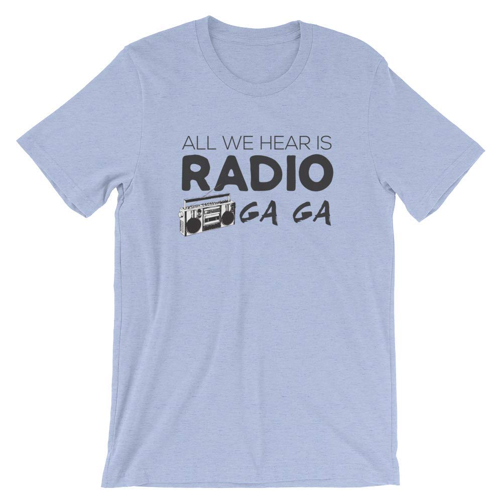 Radio Gaga Great Gift For Queen Fans Rock Band 5196 Shirts