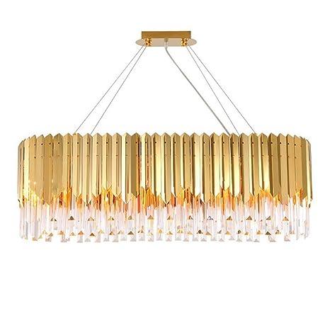 YQJJZX Lámpara de araña francesa, lámpara de sala de estar ...