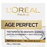 L'Oréal Paris Age Perfect Crema Viso Re-Idratante, 50 ml