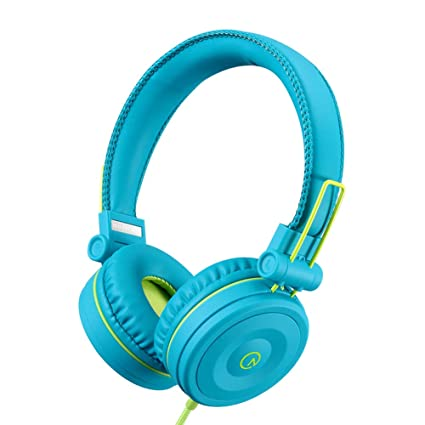 3bfee2dc729 Kids Headphones-noot products K22 Foldable Stereo Tangle-Free 3.5mm Jack  Wired Cord