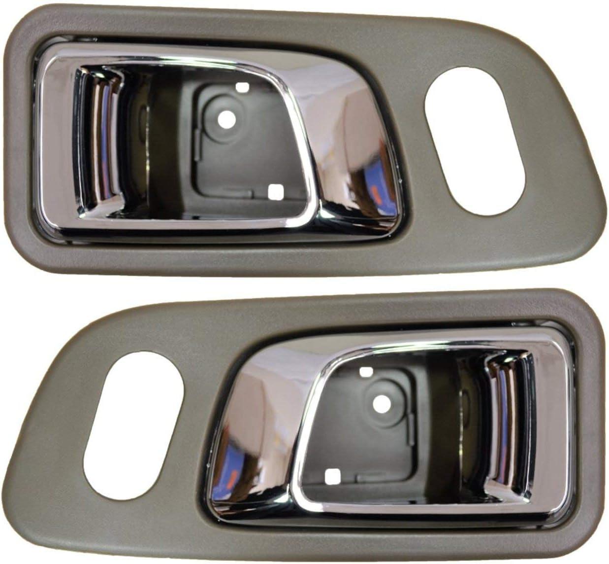 Chrome Gray Front Left Driver Side Interior Inside Door Handle