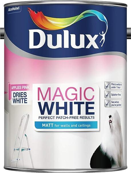 Dulux 5275000 Peinture Magique Pour Murs Et Plafonds Blanc