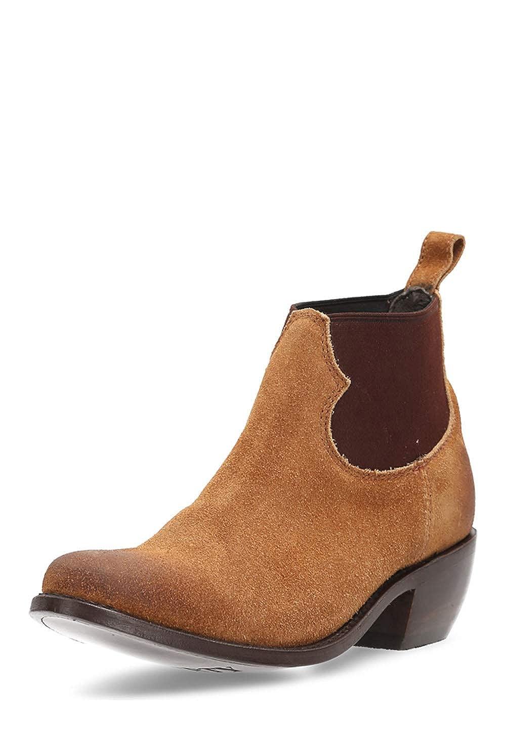 Liberty schwarz Damen Ankle Stiefel Thea Gamuza Leder Absatz 5 cm