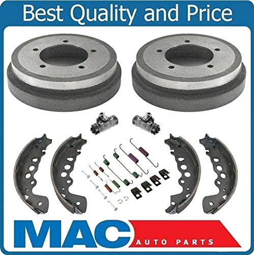- Rear Brake Drums Shoes Springs Wheel Cylinders For 00-04 Chevrolet Tracker