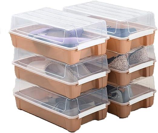 ZAOFENG Caja De Zapatos De Gran Tamaño Organizador De Plástico ...