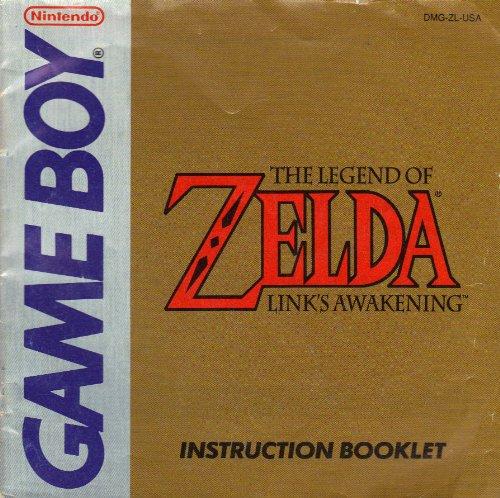 The Legend Of Zelda Link S Awakening Instruction Booklet