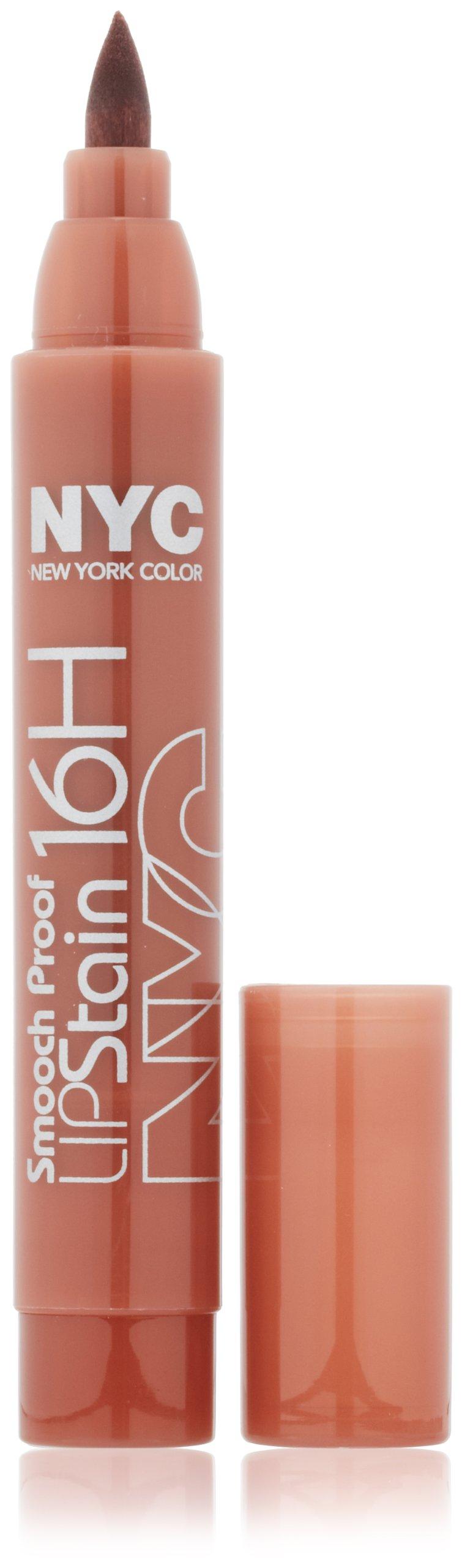 New York Color Smooch Proof Lip Stain, Never Ending Nude, 0.1 Fluid Ounce
