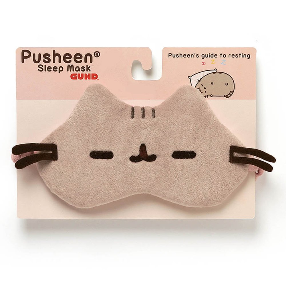 Gund - Pusheen Mascara para Dormir, Resina, Multicolor, 17.7 x 15 x 17.7 cm (Enesco 4053808): Toy: Amazon.es: Hogar