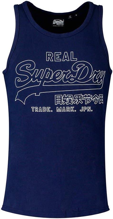 Superdry Mens Vl Outline Pop Vest