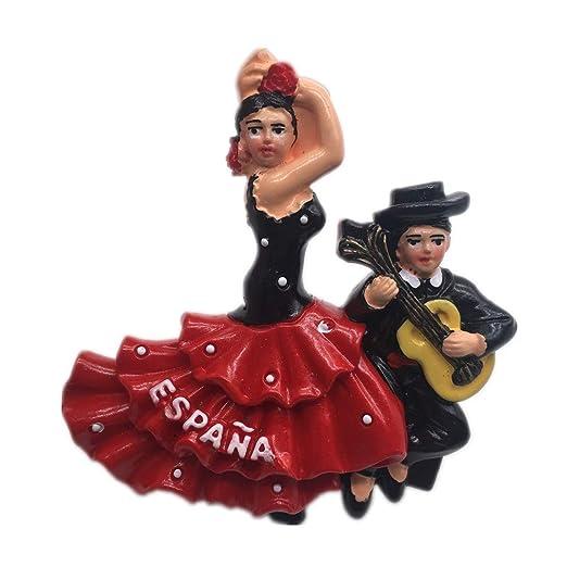 Weekino Souvenir Flamenco Bullfighting Dance España Imán de Nevera ...