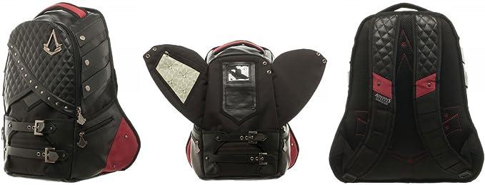 Amazon.com: Bioworld Men's Assassins Creed Laptop Backpack, Black ...