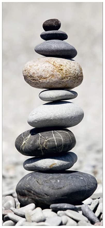 Stacked Stones Wall Mural Non Woven Photo Wallpaper Made In Europe