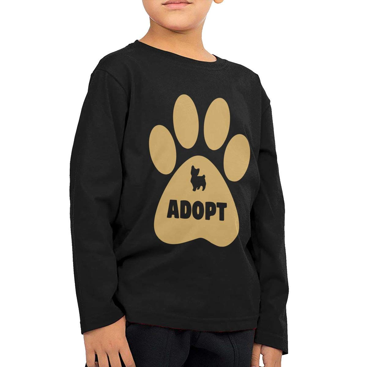 Printed Long Sleeve 100/% Cotton Infants Clothes Adopt Dog Fryhyu8 Newborn Kids Dont Shop
