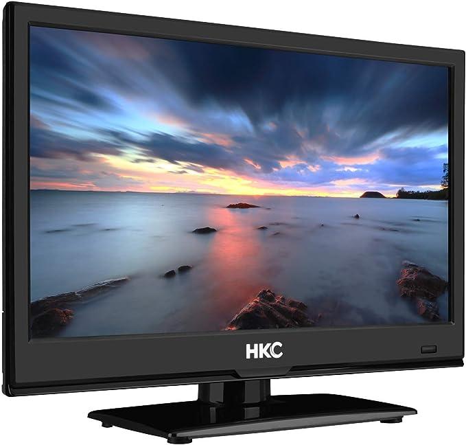 HKC 16M4: Televisor LED de 39,6 cm (15,6 Pulgadas) (HD-Ready, Triple Tuner, Ci+, Reproductor de Medios a través de USB 2.0, Cargador de Auto de 12 V): Amazon.es: Electrónica
