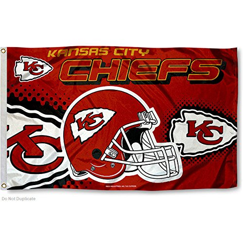 Kansas City Chiefs 3' x 5' Banner Flag