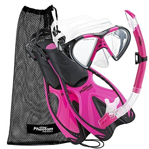 Aquatic Brush - Phantom Aquatics Adult Speed Sport Mask Fin Snorkel Set