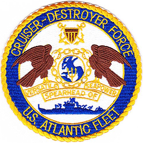 Cruiser Destroyer Force Atlantic Fleet Patch