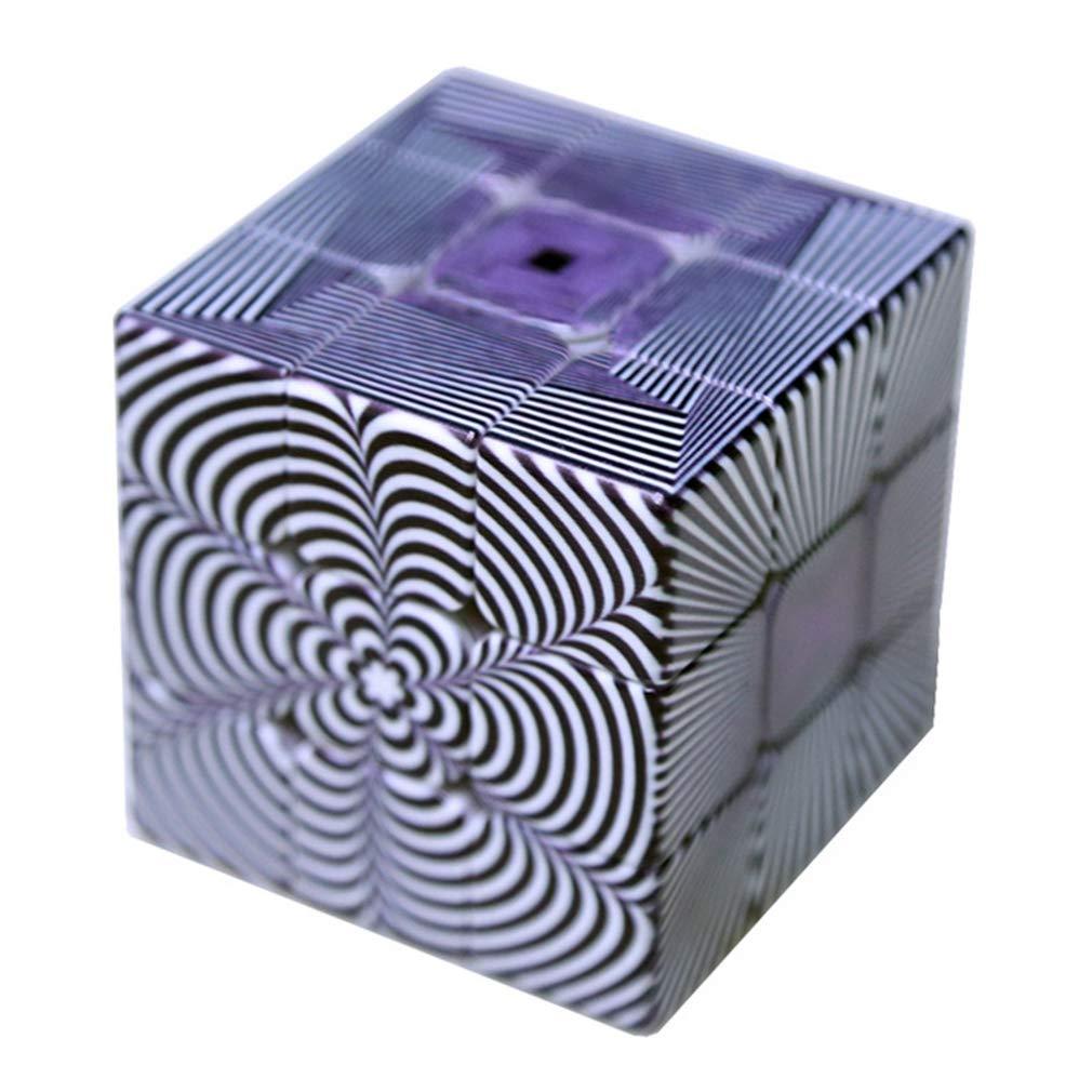 Speedcubing 3x3x3 錯覚理論デザイン B07P1GR9S8 マジックキューブパズル IQゲームパズル リリーフ効果 おもちゃ ギフト 3x3x3 子供 大人 おもちゃ 5.6cm/2.2インチ B07P1GR9S8, 太田市:1db69343 --- m2cweb.com