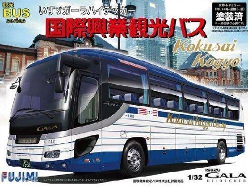 フジミ模型 1/32 観光バス いすゞガーラ ハイデッカー 国際興業バス仕様の商品画像