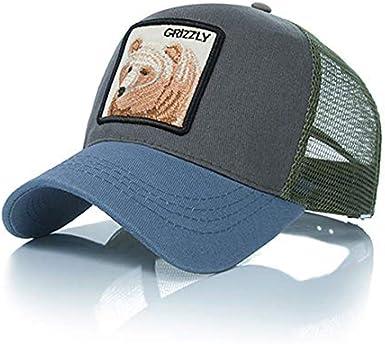 Ss - Gorra de béisbol - para hombre Bear Gray Blue Talla única ...