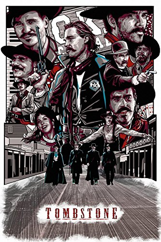 Tombstone Movie Fan Art Poster 24x36