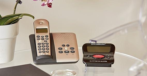 C.P.R V202 - Bloqueador de llamadas: Amazon.es: Electrónica