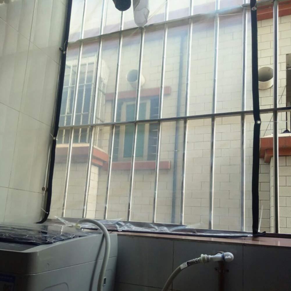 Z&YY Verdicken Sie die die die transparente Plane mit 0,12 mm Durchmesser und Kanten Sie das Perforierte Wasserdichte Fenster Winddicht ab B07M8QYPK9 Zeltplanen Online-Verkauf 1cbe57