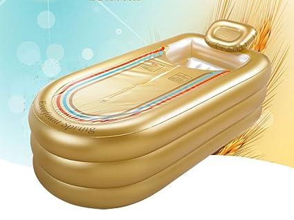 Vasca Da Bagno Oversize : Fjxlz oversized allungato gonfiabile vasca da bagno più spesso