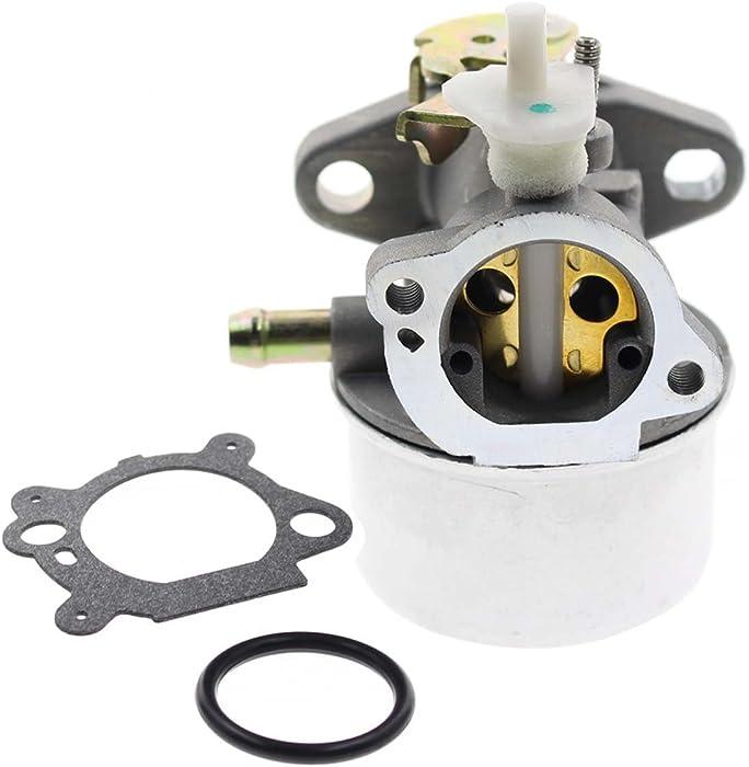 Carbhub 799869 Carburetor for Briggs and Stratton 792253 497586 499059 799869 Lawn Mower Pressure Washer Rotary 14112 Oregon 50-658 Briggs and Stratton Carburetor (497586 Carburetor)