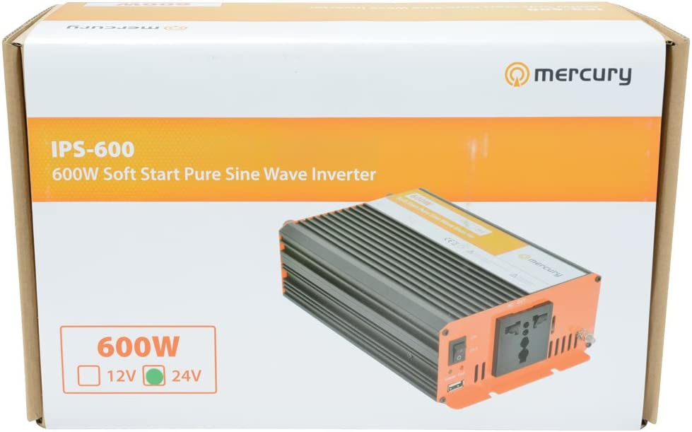 300W 24Vdc Pure Sine Wave Inverter Mercury